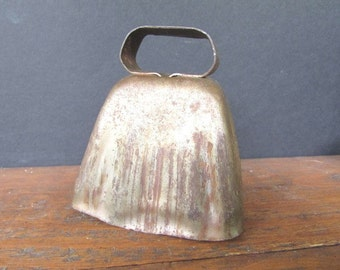 Copper Cow Bell Vintage Metal Bell