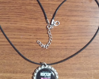 Rockin' The Pink Drink Necklace. Plexus Swag