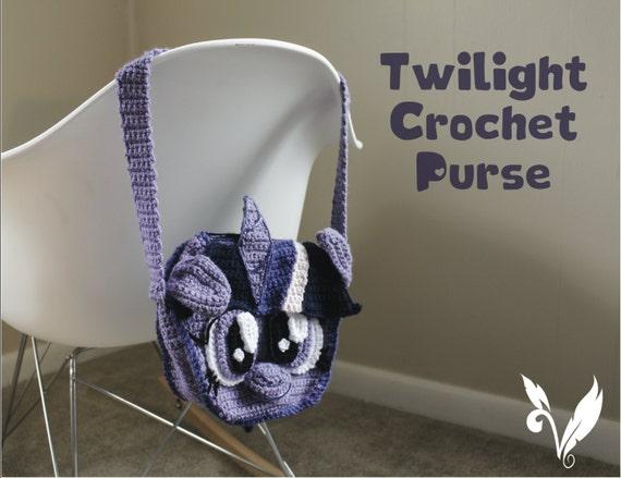 My Little Pony Fan Art Twilight Crochet Girls Purse