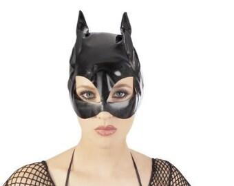 Vinyl Cat Mask Fetish BDSM