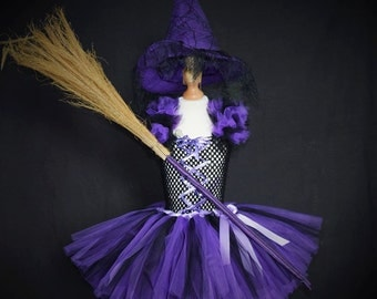Purple tutu dress