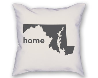 Maryland Home Pillow