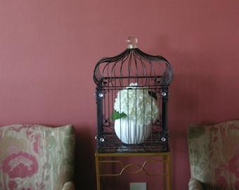 Set of 2 Decorative Birdcages