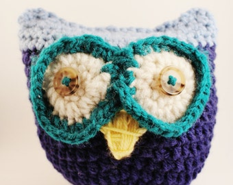 Crochet Owl Plush Toy
