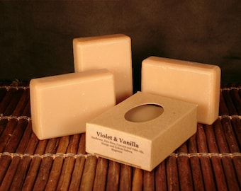 Violet and Vanilla Handcrafted Soap