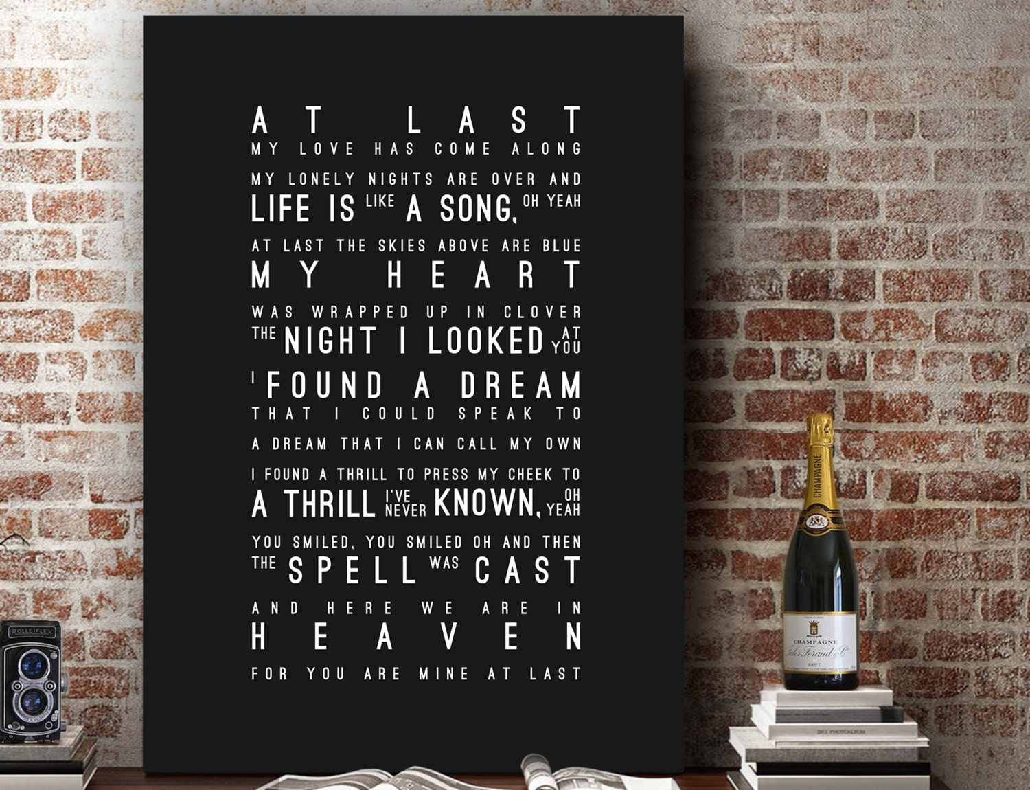 Cosmetics black leather gloves lyrics - Etta James At Last Inspired Lyrics Love Song Wall Art Song Lyrics Home Decor Anniversary Wedding Gift First Dance Typography Lyric Print