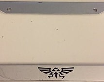 "Zelda "" Hyrule Only "" -  Chrome Automotive License Plate Frame -"