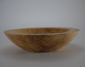 Ash wood fruit bowl