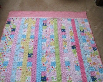 Precious Pink Baby Quilt