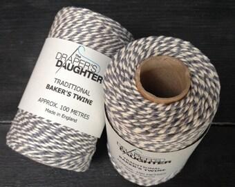 Baker's Twine Steel Grey