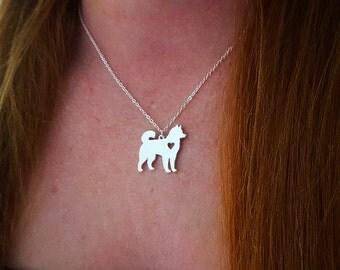 Husky Dog Necklace Pendant