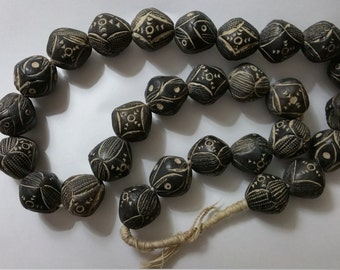Vintage African Trade Beads (Old Mali) Clay