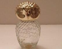 Avon Owl Sweet Honesty Cologne Bottle - Vintage Item
