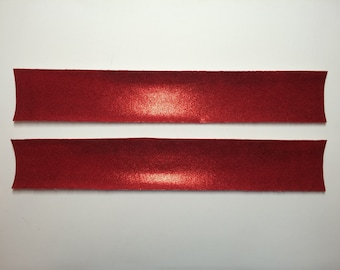Mystique iron-on fabric strips for D.I.Y. Standard size cheer bows.