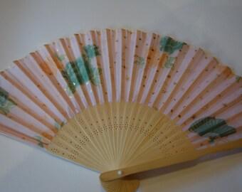 Silk and wood fan