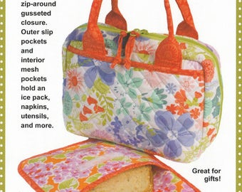 Out to Lunch - Pattern - by Annie - Lunch Tote