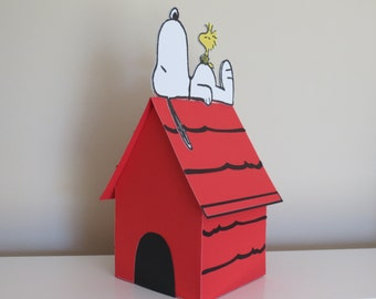 Peanuts Snoopy Inspired Goody Box 3D House (3 - 6 )