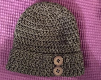 Hat with Buttons