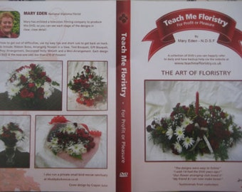 DVD 'The Art of Floristry' by Teach Me Floristry on face book