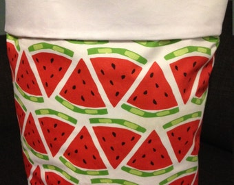 Fabric Storage Bag Large Watermelon