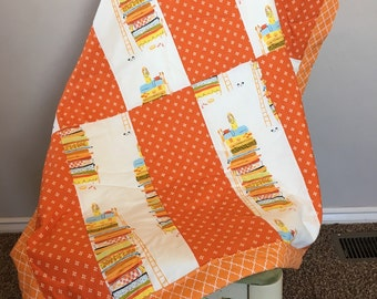 SALE! Princess & The Pea Baby Quilt