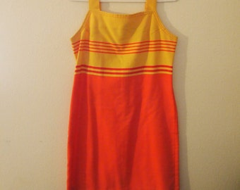 90s does 60s Mod Mini Dress