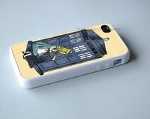 alice through the tardis Dr Who iPhone SE 6s Plus 5s 5c 4s 6 Plus case, iPod 4 5 6 case, Samsung S7 s6 s5 s4 s3 Cases, Htc,LG,Nexus,Xperia