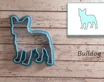 Bulldog cookie cutter / Dog cookie cutter / Cookie cutter dog / Cookie cutter / Shaped cookie cutter / dog fondant cutter
