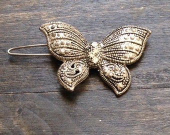 Vintage 1990s Butterfly hair Clip
