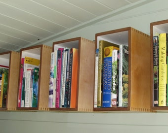 Upcycled Storage Boxes - Shelving