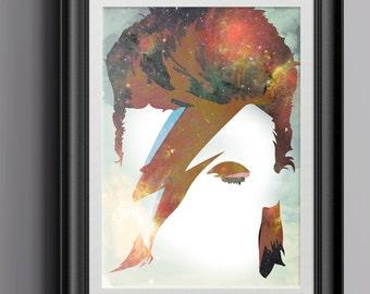 David Bowie - Starman - Printable Poster