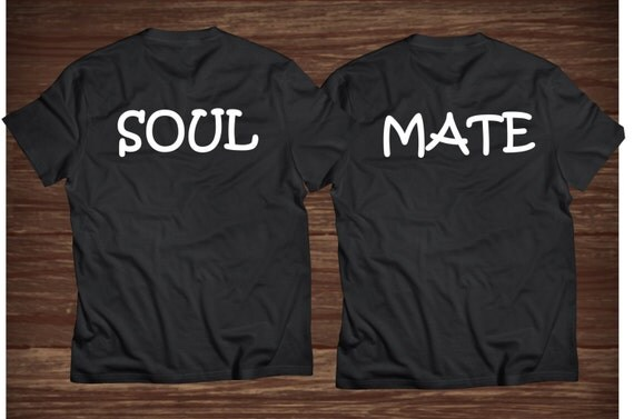 soul mate t shirts mr and mrs t shirts by makarapersonel on etsy. Black Bedroom Furniture Sets. Home Design Ideas