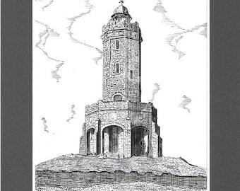 Jubilee Tower, Darwen, Lancashire.