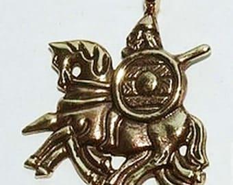 Amulet Odin on Sleipner. Suspension, guardian of the Vikings. Viking pendant