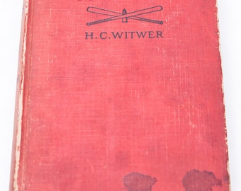 """1918 """"From Baseball to Boches"""" Hardcover Book"""