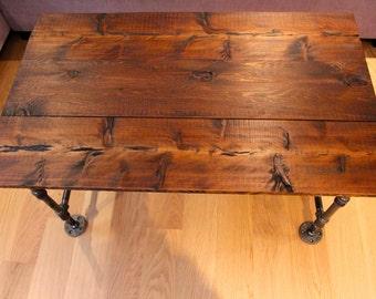 Handmade Pipe + Cedar Coffee Table