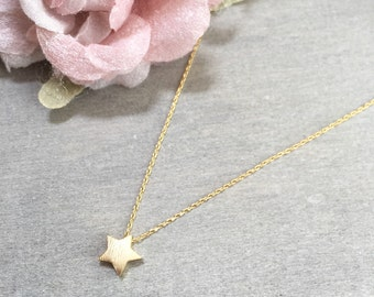 Star Necklace ~ Silver/Gold