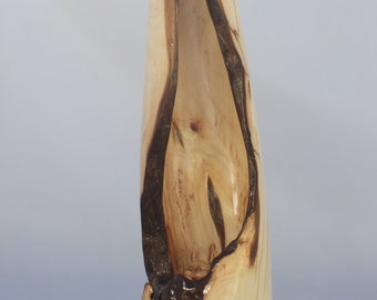Hand Turned and Sculpted Wood Art Object