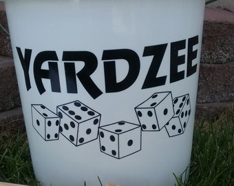 Yardzee Vinyl Decal.