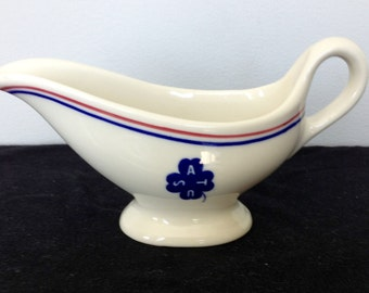 WWII US Army Transport Gravy or Sauce Boat