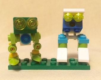Micro Robot Minions: Swamper and Stomper (Lego)