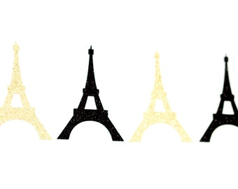 Eiffel Tower die cuts, Paris theme party