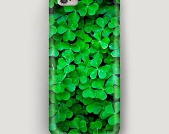 Clover iPhone 6 Plus Case, Green iPhone 6 Case, iPhone 5s Case, iPhone 5c Case, iPhone 4 Case