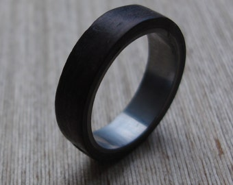 Bentwood ring stainless steel oak