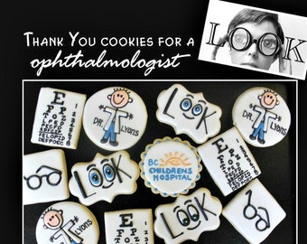 Ophthalmologist Cookies