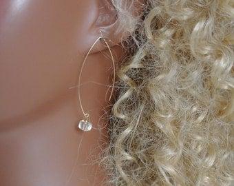 Topaz yellow gold GF earrings of Topaz Earrings gold filled