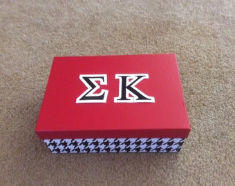 Greek Life Storage Boxes