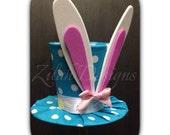 Easter Hat - Mini Top Hat – Bunny Ears