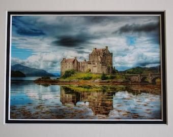 Castle (8x10), Eilean Donan Castle, Kyle of Lochalsh, Dornie, Scotland