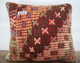 embroidered pillow cover 15x17 inches Turkish kilim pillow,decorative kilim pillow kilim cushion cover throw pillow,ethnic pillow SP4040-405